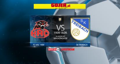 Fussball Livestream KAC gegen Treibach