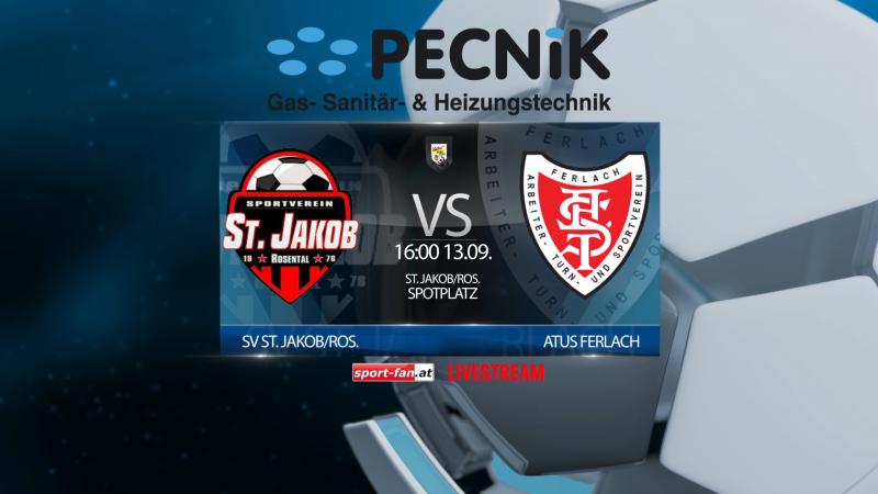 Fußball Livestream St. Jakob gegen Ferlach