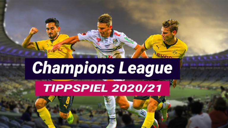 Champions League Tippspiel – Jetzt anmelden und mittippen!