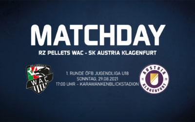 FußballÖFB Jugendliga live – Wolfsberger AC gegen Austria Klagenfurt