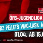 ÖFB Jugendliga U18 live | Wolfsberger AC gegen den LASK