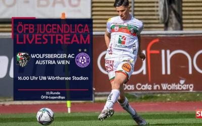 LIVE: ÖFB JugendligaWolfsberger AC empfängt Austria Wien