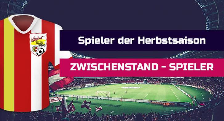Sport Fan Livestream - Zwischenstand-Spieler-der-Herbstrunde-Voting-Spieler-Sport-Fan