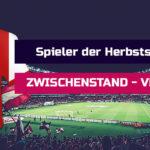 Sport Fan Livestream - Zwischenstand-Spieler-der-Herbstrunde-Voting-Sport-Fan